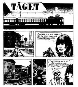 Serien Tåget från 1980 (detalj)